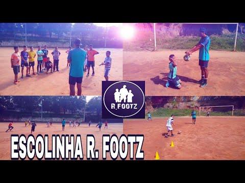 TREINO NO CAMPO - ESCOLINHA R. FOOTZ