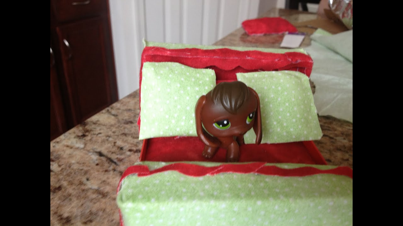 Littlest Pet Shop How To Make Lps Beds Youtube
