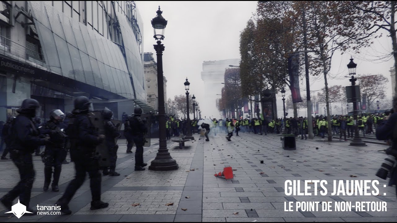 GILETS JAUNES : LE POINT DE NON RETOUR (DOCUMENTAIRE)