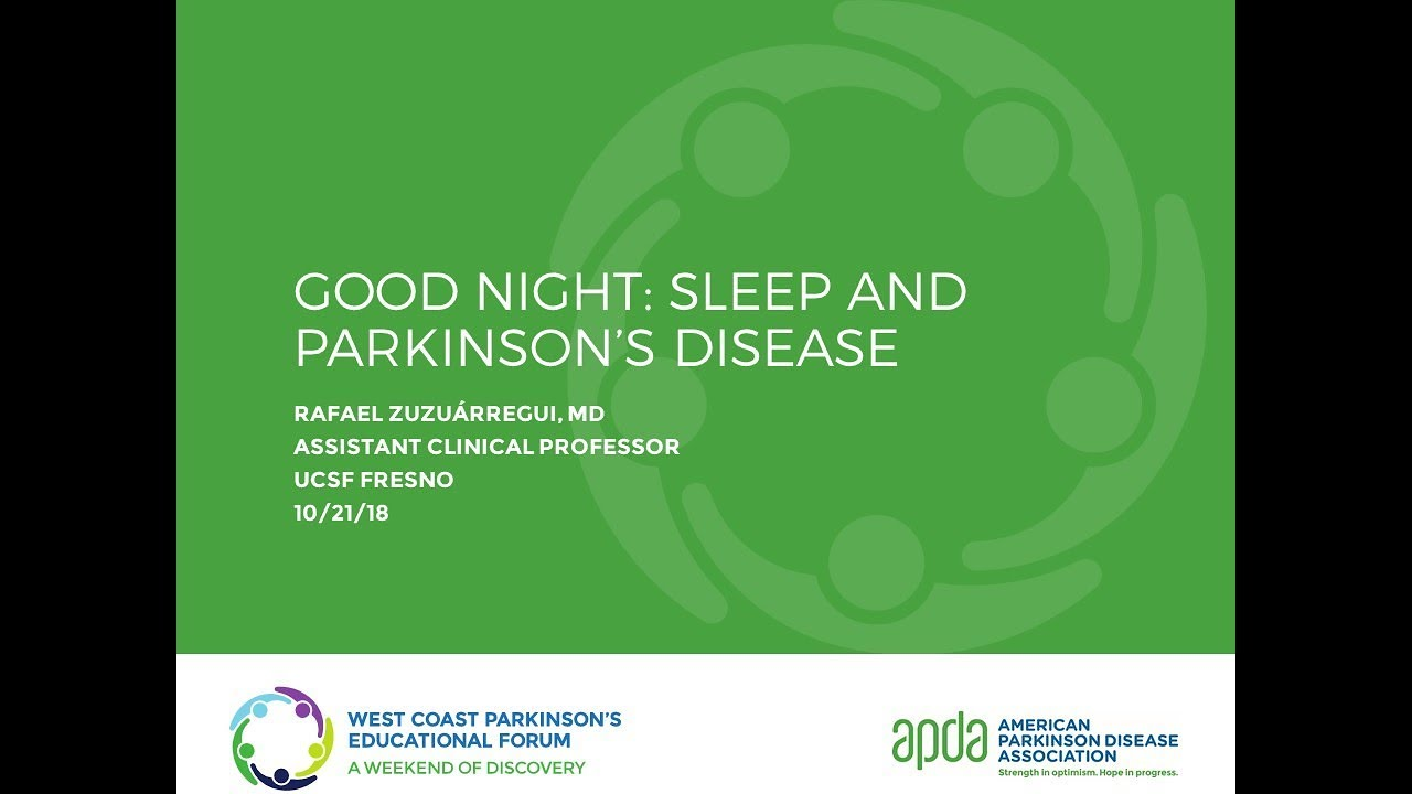 Sleep Problems in Parkinson's | APDA