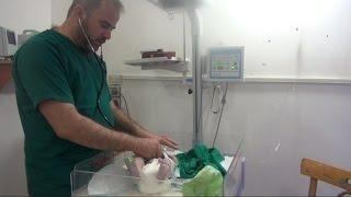 """قوات الأسد لاحقته بتهمة علاج """"الإرهابيين"""" فأسس مشفى ميداني"""