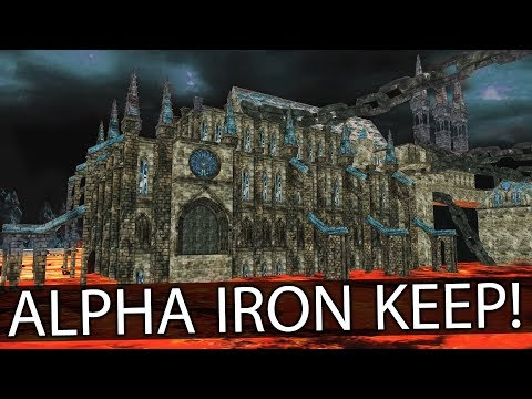 PROTOTYPE IRON KEEP! ► Dark Souls 2 Alpha Content (Never-Before-Seen Footage)