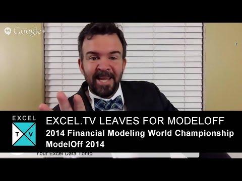 Excel.TV leaving for Modeloff - 2014 Financial Modeling World Championship