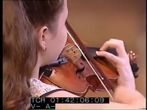 Anna Savkina (violin) - Henryk Wieniawski - Polonaise No 1 in D major