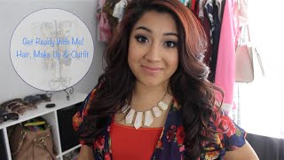 Get Ready With Me; Hair, Make Up and Outfit | Beauty With Venissa Thumbnail