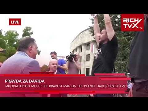 Pravda Za Davida – Milorad Dodik Meets The Bravest Man On The Planet Davor Dragičević