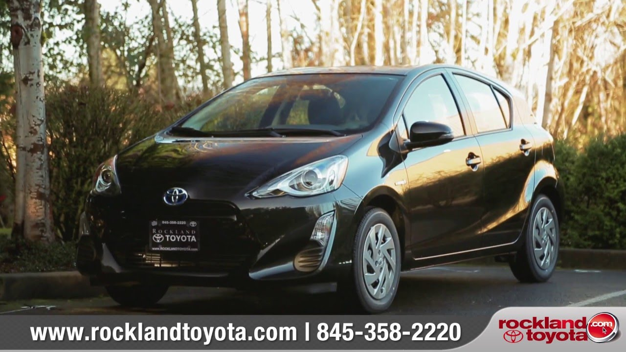 2016 toyota prius c review rockland toyota toyota dealer in blauvelt ny youtube. Black Bedroom Furniture Sets. Home Design Ideas