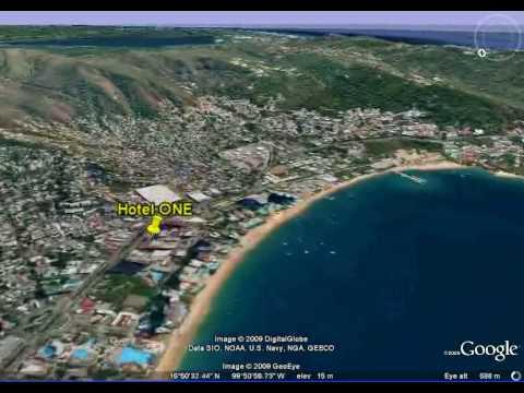 3-D Acapulco Map