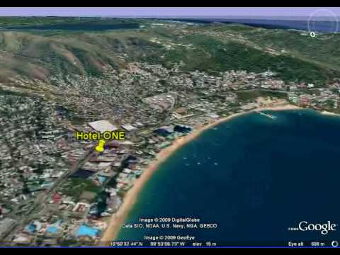 3D Acapulco Map  YouTube