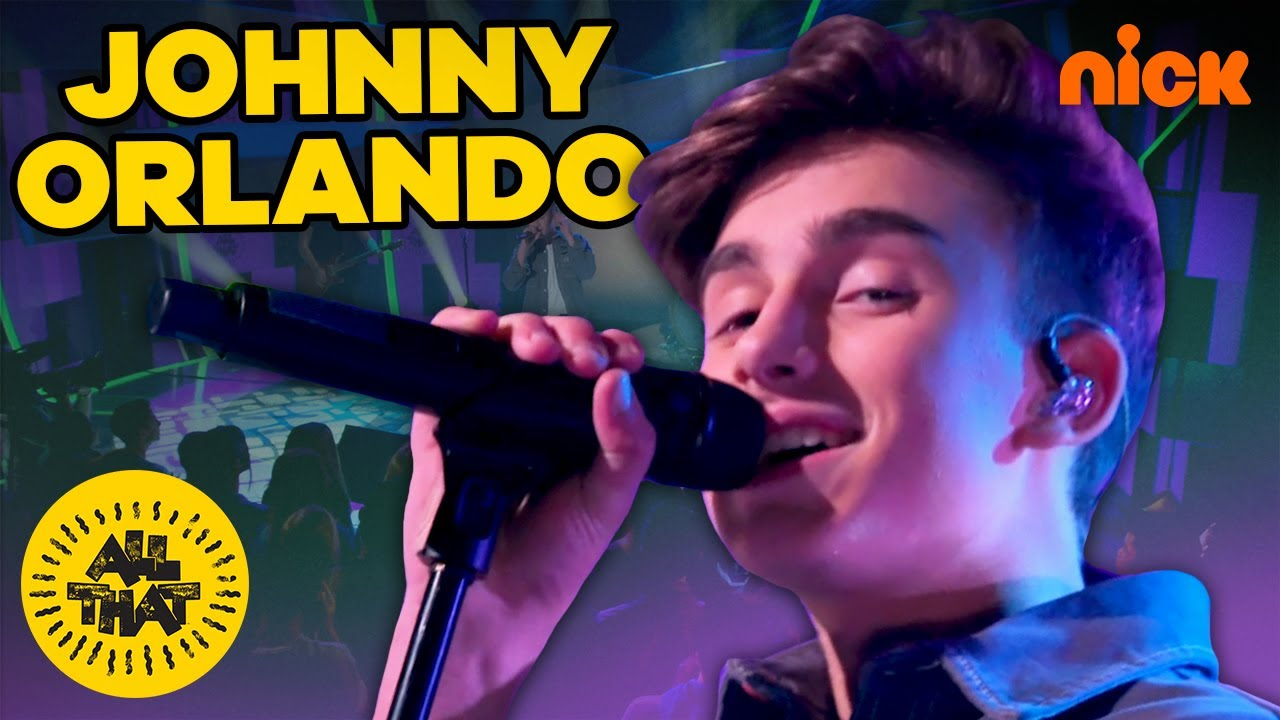 Johnny Orlando- 'Waste My Time' Live On All That 🎤 | All That