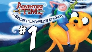 Adventure Time: The Secret of the Nameless Kingdom Walkthrough - PART 1 - Xbox 360, PS3, Steam, 3DS