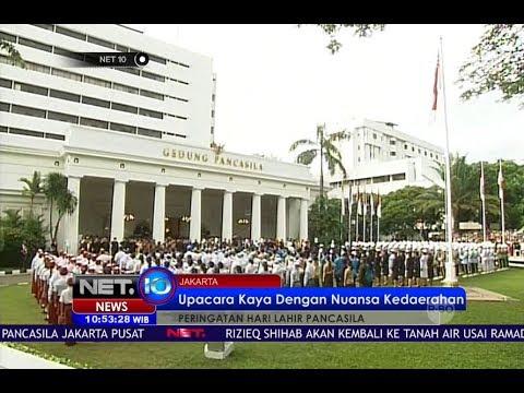 Presiden Jokowi Pimpin Langsung Upacara Peringatan Hari Lahir Pancasila - NET10
