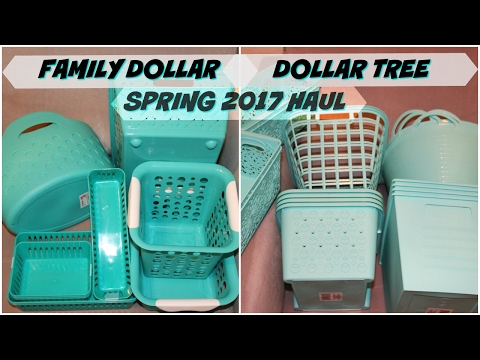 DOLLAR TREE | FAMILY DOLLAR SPRING 2017 HAUL