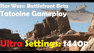 Star Wars Battlefront Gameplay - Ultra Settings - Tatooine Survival Mode