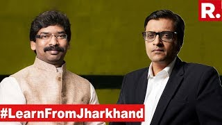 JMM Procures A Sweeping Victory In Jharkhand Elections | The Debate With Arnab Goswami