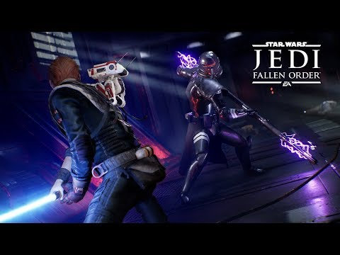 Star Wars Jedi: Fallen Order — Official Gameplay Demo (Extended Cut)