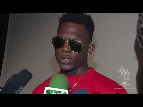 Conférence de presse Tenor x Universal Music Africa