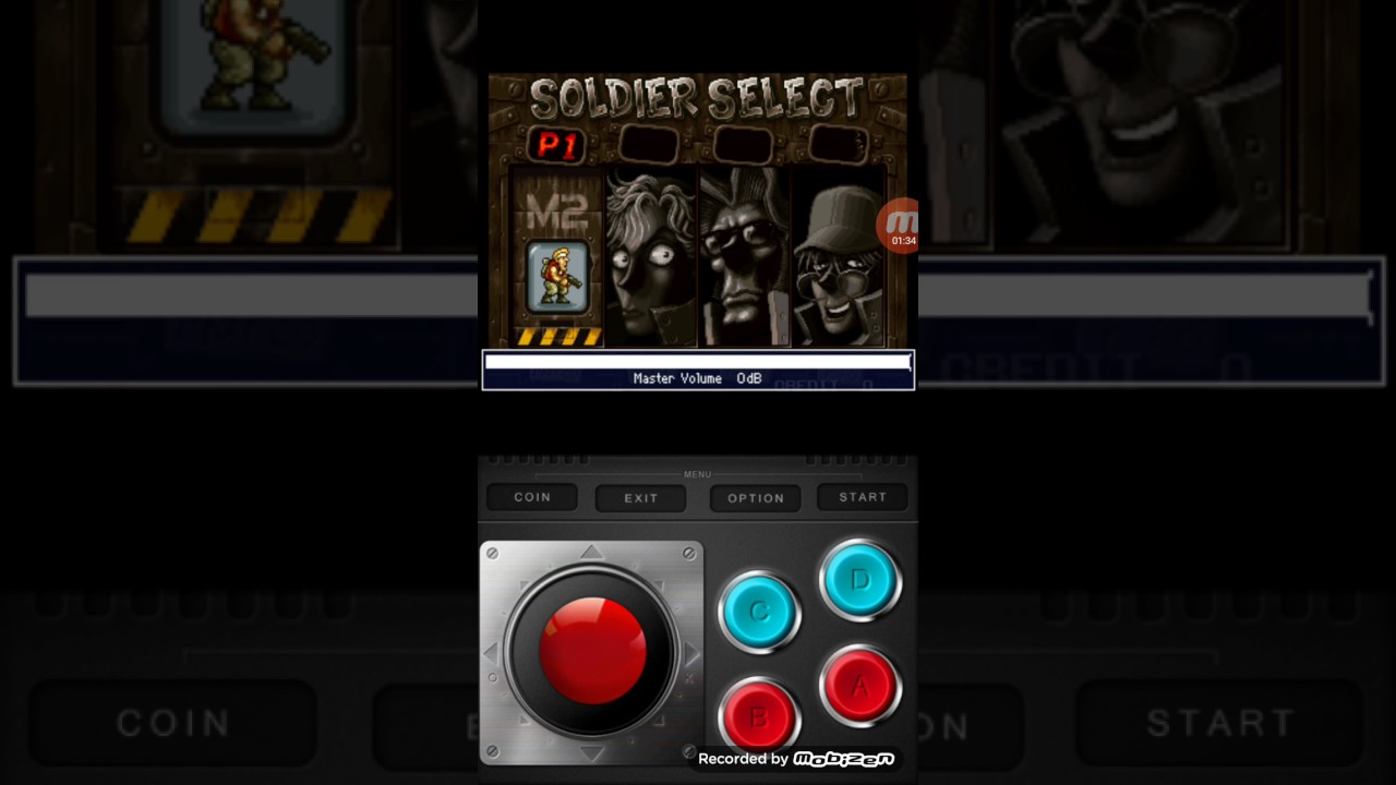 How to activate cheet on mame4droid emulator