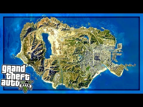 WE RACED AROUND THE WHOLE MAP!! (GTA 5 Versus)