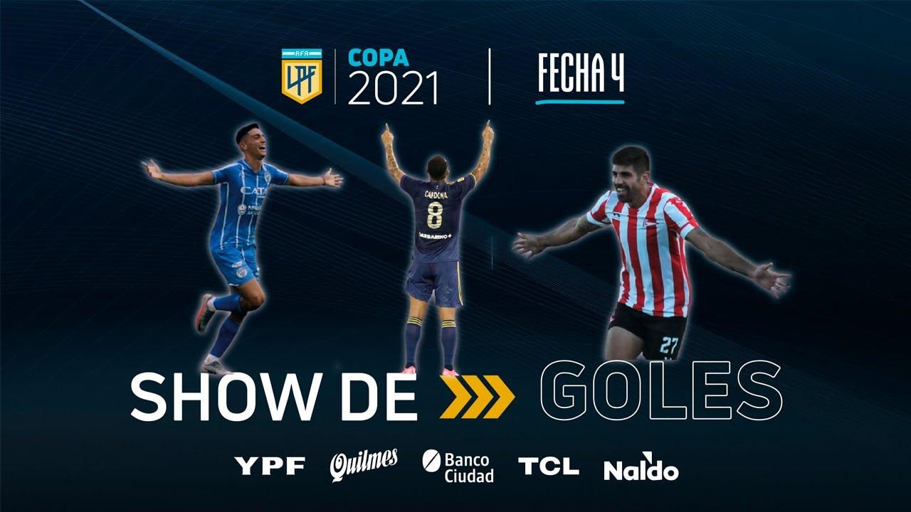 Copa de la Liga | Show de goles de la fecha 4