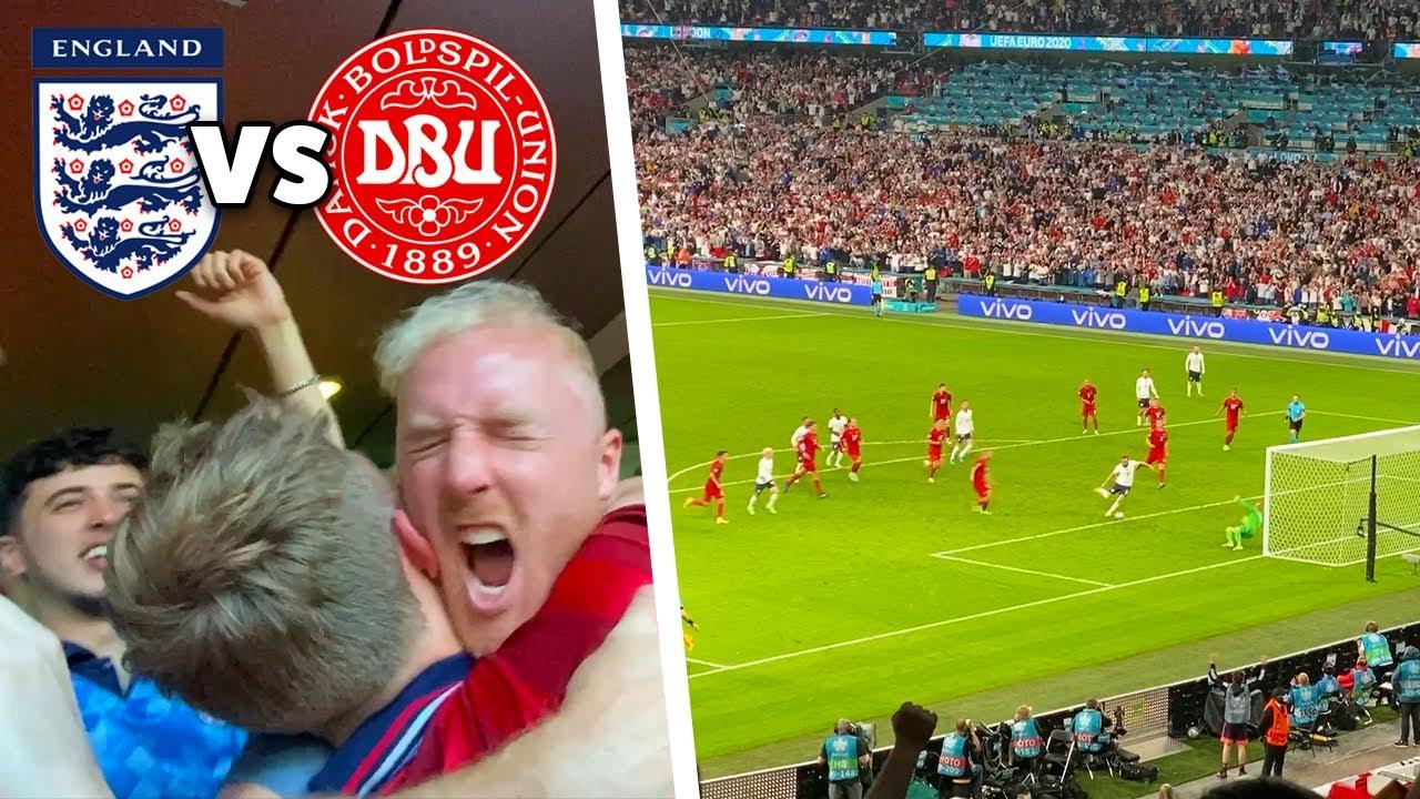 ENGLAND VS DENMARK!! England Reach The EURO 2020 FINAL!!