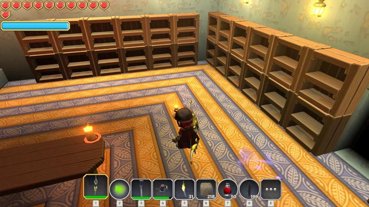 Portal Knights My Secret Library Build On Rainbow Island