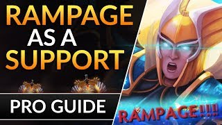 How to Skywrath: RAMPAGE as a SUPPORT - Pro Gameplay Tips to Carry Games | Dota 2 Guide