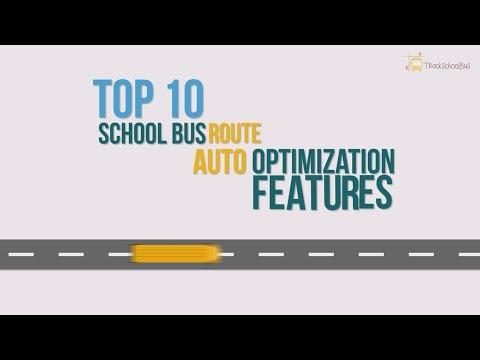 School Bus Route Auto Optimization Software | Trackschoolbus