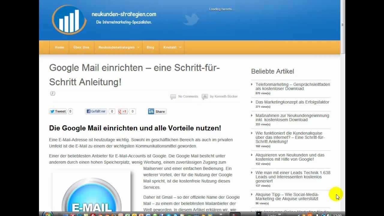 Google Now Einrichten : google mail einrichten eine schritt f r schritt ~ Watch28wear.com Haus und Dekorationen