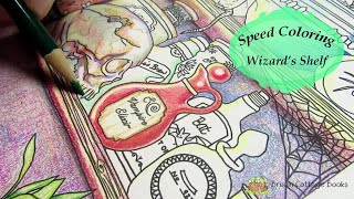 SPEED COLORING Wizard