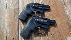 Ruger LCR in 22 and .38 special the perfect team.