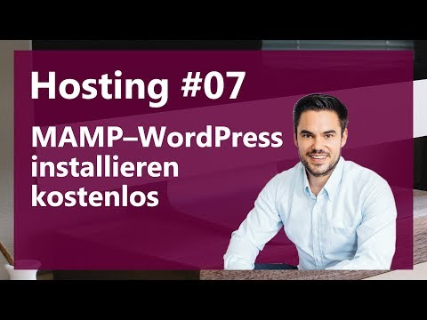 WordPress auf MAMP lokal kostenlos installieren (Deutsch, German)