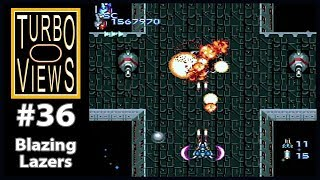 """Blazing Lazers"" - Turbo Views #36 (TurboGrafx-16 / Duo / Wii game REVIEW!)"