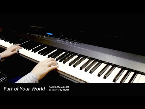 """인어공주 The Little Mermaid OST : """"Part of Your World"""" Piano cover 피아노 커버"""