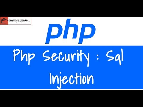 Php Security : 43 : Sql Injection | Pdo | Prepared Statement