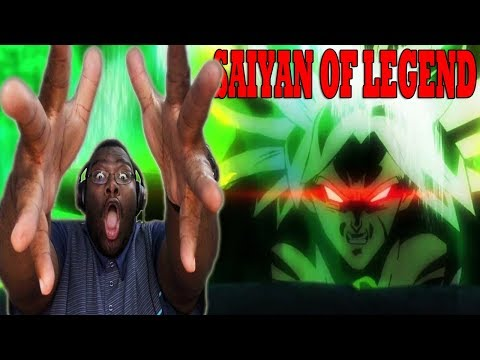 DRAGON BALL SUPER BROLY MOVIE TRAILER ENGLISH DUB LIVE REACTION
