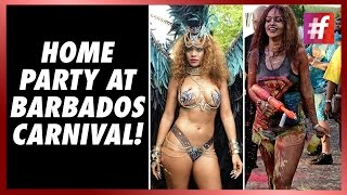 #fame hollywood - Rihanna Rocks At Barbados Carnival!