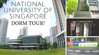 National University of Singapore Dorm Tour | Utown Residence