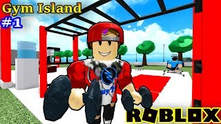 ROBLOX | Vamy Built Gym Gym For It Go You Hit Boxing | Gym Island #1 | Vamy Tran