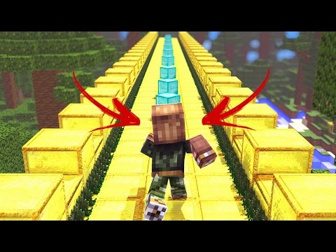 TEMPLE RUN NO MINECRAFT?!