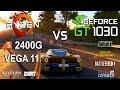 Ryzen 5 2400G APU vs GT 1030 Test in 7 Games