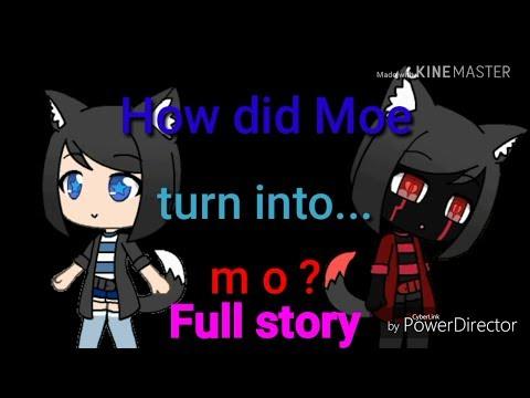 How Did Moe Turn Into M O ? Full Story || Gacha Life || Part 1-6