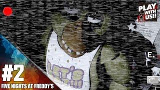 #2【ホラー】弟者,兄者,おついち「Five Nights at Freddy's」【2BRO.】