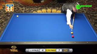 #4 • P. FELTMAN Sr. vs J. HYUNG CHO - 2017 USBA 3-Cushion National Championship thumbnail