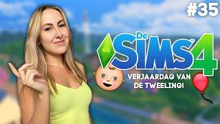 De TWEELING is eindelijk JARIG! - De Sims 4 - Deel 35