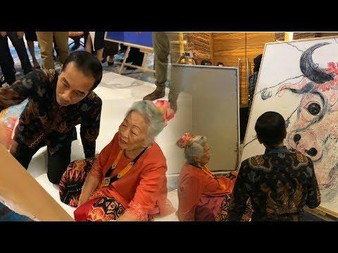 Saat Jokowi Mencoba Melukis Mp3