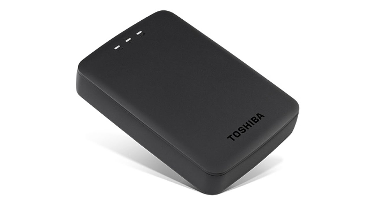 Toshiba Canvio AeroCast™ Wireless Portable Hard Drive: Product