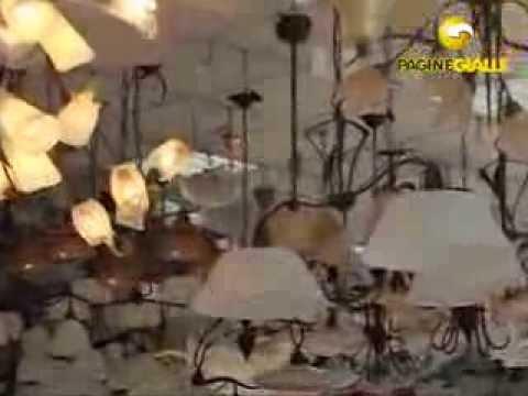 Esposizione bianchi materassi lampadari letti youtube for Lampadari bianchi