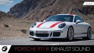 Porsche 911 R   Exhaust Sound - Test Drive