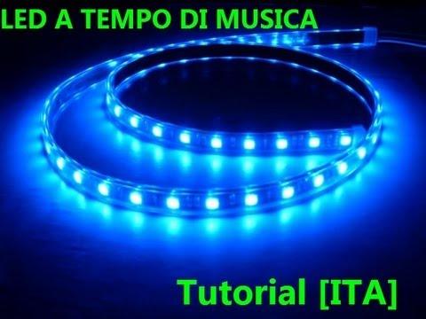 LED a tempo di musica [Tutorial] ITA HD